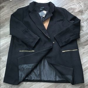 Black coat, size 24 by ASOS CURVE